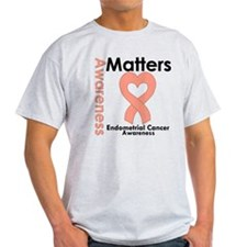 Endometrial Cancer Matters T-Shirt
