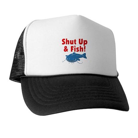 Shut Up & Fish Trucker Hat