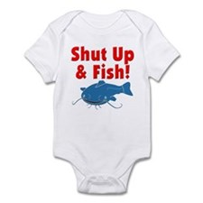 Shut Up & Fish Infant Bodysuit