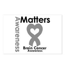 Brain Cancer Matters Postcards (Package of 8)