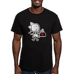 Girl & Medical Men's Fitted T-Shirt (dark)