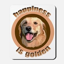 golden happiness Mousepad