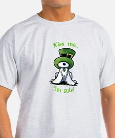 Kiss Me St. Patty's Westie T-Shirt