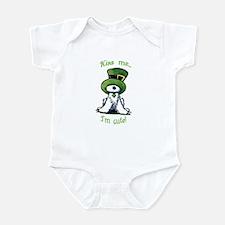 Kiss Me St. Patty's Westie Infant Bodysuit