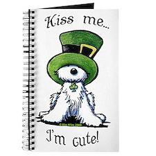 Kiss Me St. Patty's Westie Journal