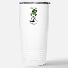 Kiss Me St. Patty's Westie Travel Mug