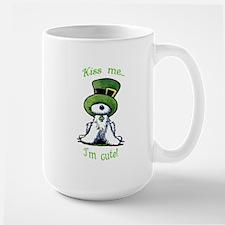 Kiss Me St. Patty's Westie Mug