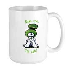 Kiss Me St. Patty's Westie Mug