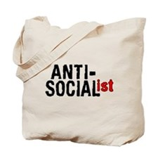 Anti-Socialist Tote Bag