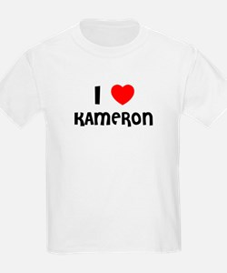 I LOVE KAMERON Kids T-Shirt