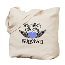 Stomach Cancer Survivor Tote Bag