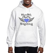 Stomach Cancer Survivor Hoodie Sweatshirt