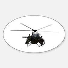 MH-6 Oval Decal
