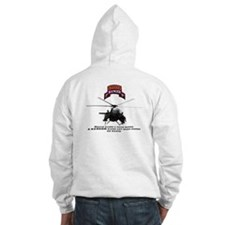 MH-6 2nd RGR Bn Two Sided Hoodie