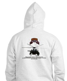 MH-6 1st RGR Bn Two Sided Hoodie