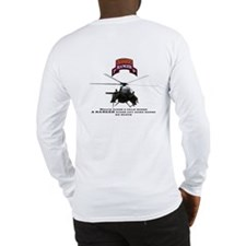 MH-6 2nd RGR Bn Two Sided Long Sleeve T-Shirt