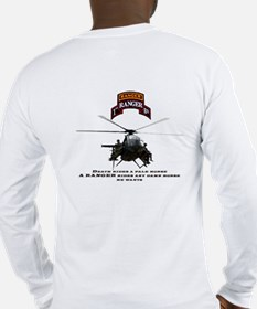 MH-6 1st RGR Bn Two Sided Long Sleeve T-Shirt