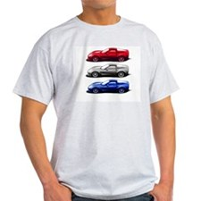 red white blue zr1 T-Shirt