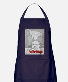 Food For Thought Apron (dark)