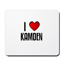 I LOVE KAMDEN Mousepad