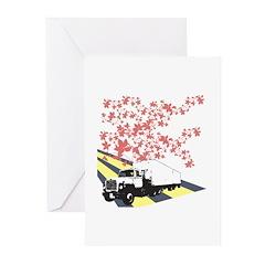 Vine Street Truck Greeting Cards (Pk of 20)
