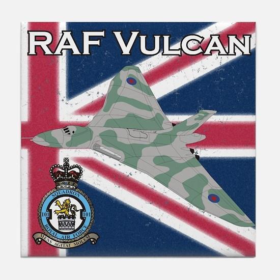 RAF Vulcan Tile Coaster