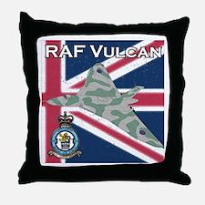 RAF Vulcan Throw Pillow