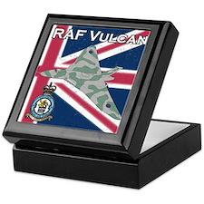 RAF Vulcan Keepsake Box