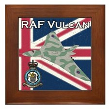 RAF Vulcan Framed Tile
