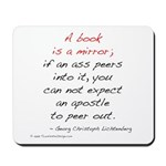 Lichtenberg on Books II Mousepad