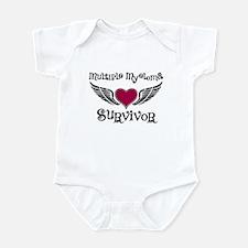 Myeloma Survivor Infant Bodysuit
