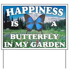 Butterfly garden Yard Sign