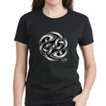 Celtic Yin Yang Women's Dark T-Shirt