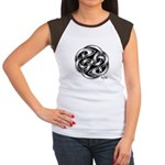 Celtic Yin Yang Women's Cap Sleeve T-Shirt