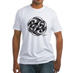 Celtic Yin Yang Fitted T-Shirt
