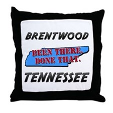 brentwood tennessee - been there, done that Throw