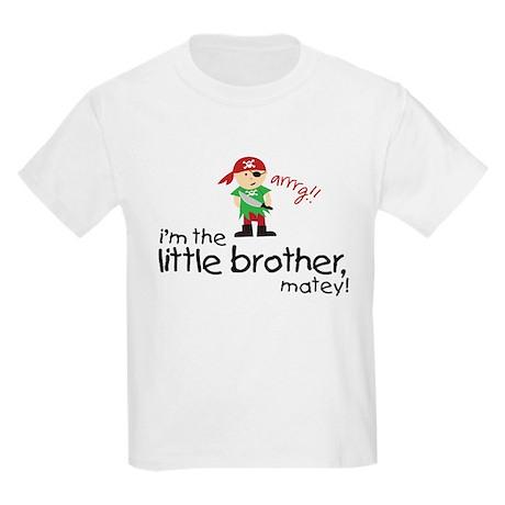 little brother shirt pirate Kids Light T-Shirt