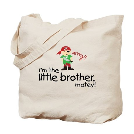 little brother shirt pirate Tote Bag