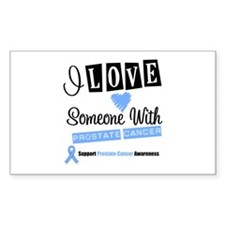 ProstateCancer Support Rectangle Decal