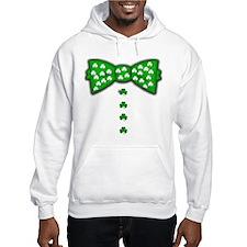 Funny Irish Bow Tie Hoodie