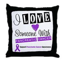 PancreaticCancer Support Throw Pillow