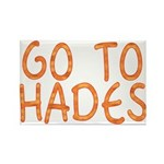 Go To Hades Rectangle Magnet (10 pack)
