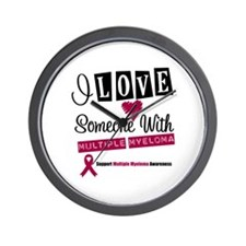 MultipleMyeloma Support Wall Clock