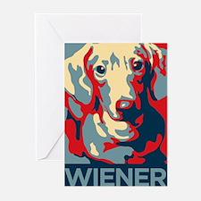 Vote Wiener! Greeting Cards (Pk of 20)