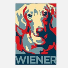 Vote Wiener! Postcards (Package of 8)