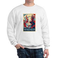 Vote Wiener! Sweatshirt