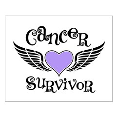 Cancer Survivor Lavender Posters
