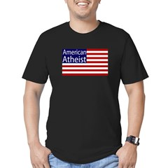 American Atheist Black Flag T-Shirt