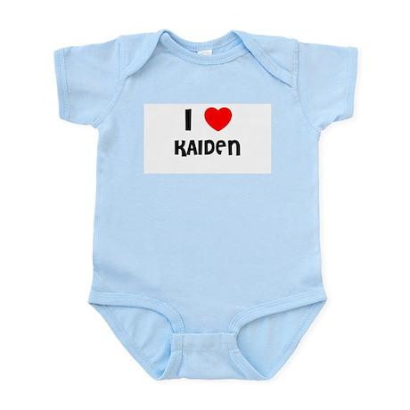 I LOVE KAIDEN Infant Creeper
