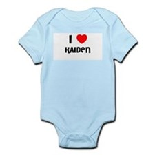 I LOVE KAIDEN Infant Creeper